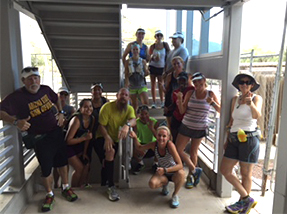 AVC Elite Training Stair Climbing Group